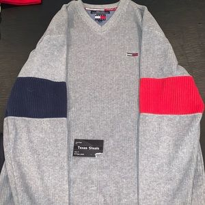 Tommy Jeans Blue/Red Pullover XL